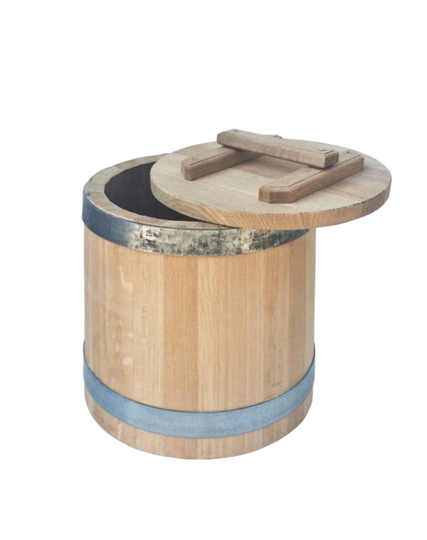 Кадка дубовая 6 литров