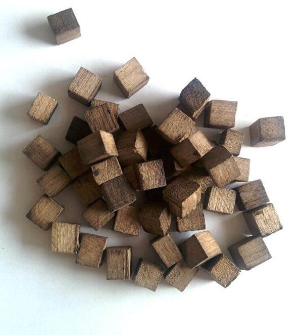 Дубовые кубики для настаивания