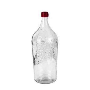 Бутыль стеклянная виноград 2 л