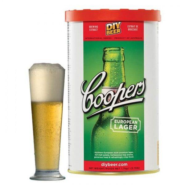 Солодовый экстракт Coopers European Lager 1.7 кг