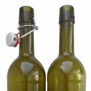 Бутылка винная с бугельной пробкой, 0,75 л