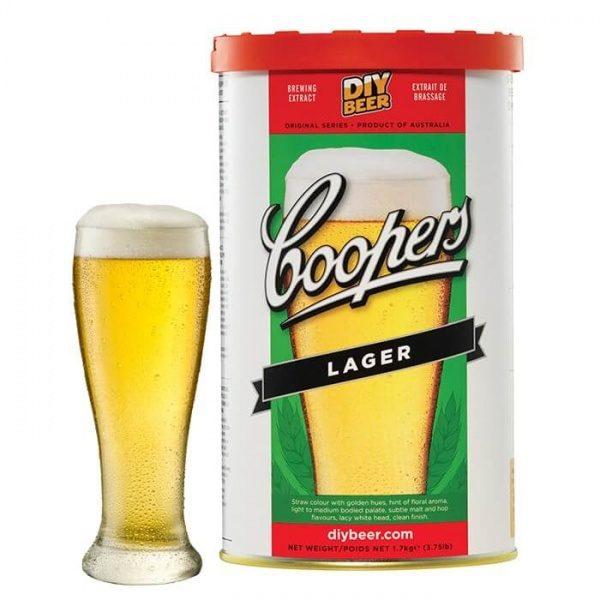 Солодовый экстракт Coopers Lager 1.7 кг