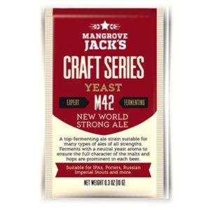 Пивные дрожжи Mangrove Jack's Strong Ale M42
