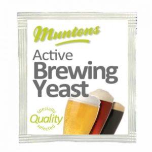 Пивные дрожжи Muntons, 6 гр